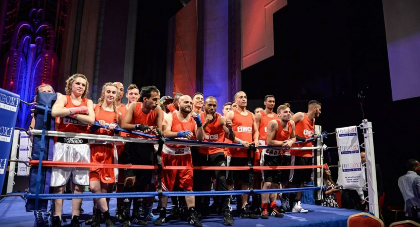 Sam Shepherd Takes Victory at Ultra White Collar Boxing